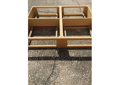 Queen/Full bed platform